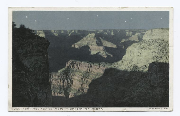 North from near Mohave Point, Grand Canyon, Ariz.
