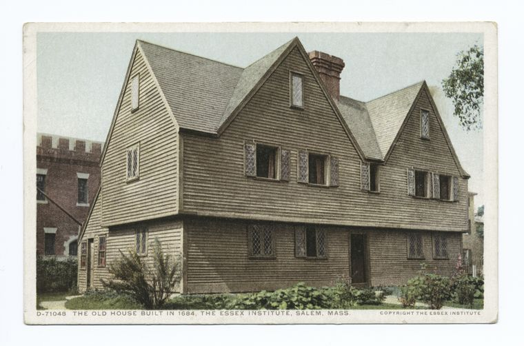 The Old House, Essex Institute, 1684, Salem, Mass.